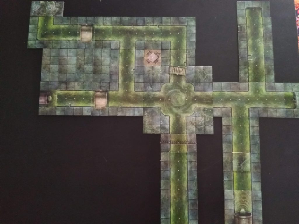 Dungeon Tile Map